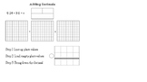 Adding & Subtracting Decimal Notes