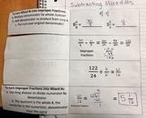 Adding & Subtracting Decimals: 2 Foldables, Save the Teacher Mystery, Quiz