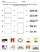 Adding & Subtracting Decimals Money Shopping Real World Activity