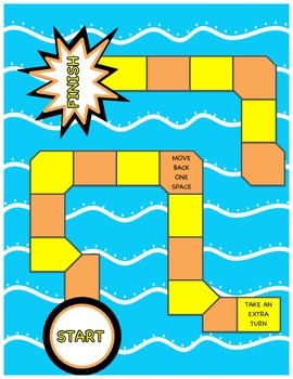 Adding & Subtracting Decimals Board Game
