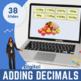 Adding & Subtracting Decimals - Grade 6, Year 7, Key stage 3