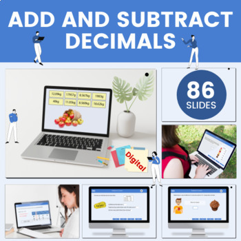 Adding & Subtracting Decimals - Grade 6, Year 7, Key stage 3