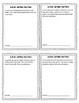 Adding & Subtracting Decimals Math Menus and Task Cards Grade 5