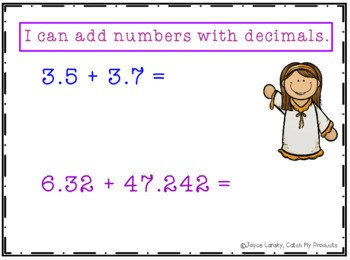 Adding and Subtracting Decimals Power Point
