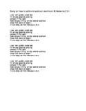 Adding & Subtracting Decimals song 4.4A