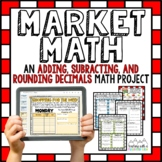 Adding and Subtracting Decimals Math Project | Distance Learning