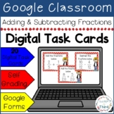 Adding & Subtracting Fractions l Google Forms l Google Classroom