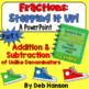 Adding & Subtracting Fractions BUNDLE (based on 5th Grade CCSS)