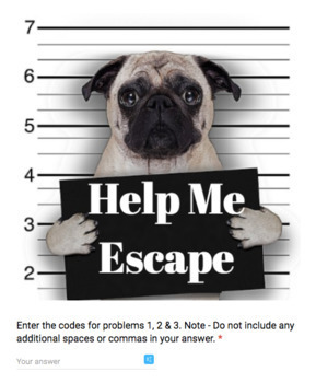 Adding & Subtracting Fractions – Bad Dog Breakout for Google Classroom!