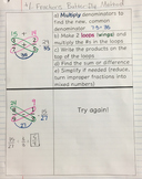 Adding & Subtracting Fractions (Butterfly Method) Interact