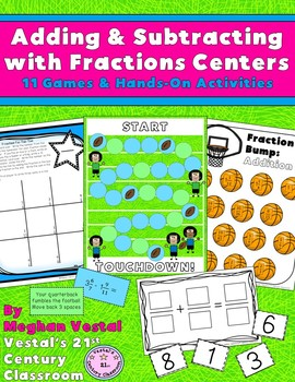 Adding & Subtracting Fractions Centers