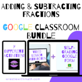 Adding & Subtracting Fractions Google Form Bundle – Perfec