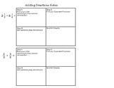 Adding & Subtracting Fractions Notes (Unlike Denominators)