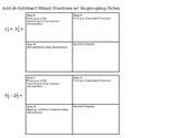 Adding & Subtracting Fractions (Regrouping Unlike Denominators)