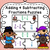 5th Grade Adding and Subtracting Fractions with Unlike Denominators Game 5.NF.1