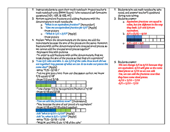 Adding/Subtracting Fractions & Mixed Numbers/Improper Fractions
