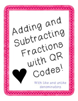 Adding & Subtracting Fractions with Like & Unlike Denominators