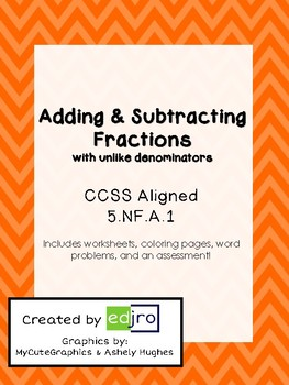 Adding & Subtracting Fractions with Unlike Denominators