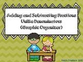 Adding & Subtracting Fractions with Unlike Denominators (Graphic Organizer)