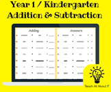 Adding & Subtracting Images Worksheet
