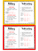 MATH: Adding & Subtracting Integer Rules - Mini Student Visual