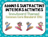 Adding & Subtracting Integers Activities