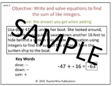 Integers Power Point Lessons: Add & Subtract / Distance Learning