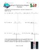 Adding & Subtracting Integers Practice