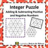 Adding & Subtracting Integers Puzzle {Tarsia} 7.NS.1