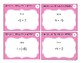 Adding & Subtracting Integers Task Cards