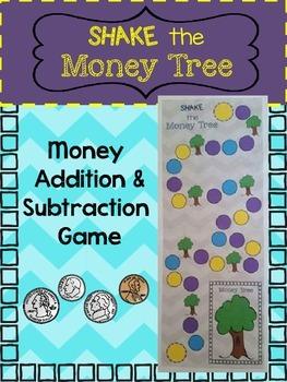 Adding & Subtracting Money Game