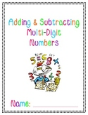 Adding & Subtracting Multi-Digit Numbers