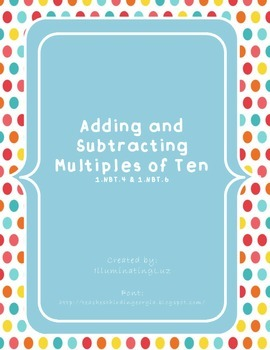 Adding & Subtracting Multiples of Ten