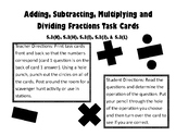 Adding, Subtracting, Multiplying, & Dividing Fractions Hol