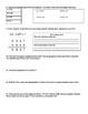 Adding, Subtracting, Multiplying and Dividing Decimals 6th Grade Unit 1 test
