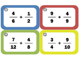 Adding, Subtracting, Multiplying, and Dividing Fractions Task Cards Bundle