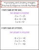 Adding, Subtracting, Multiplying, and Dividing Integers - Cheat Sheet