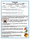 Adding, Subtracting, Multiplying, and Dividing Integers Quiz