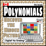 Adding Subtracting Multiplying and Dividing Polynomials Digital Activity