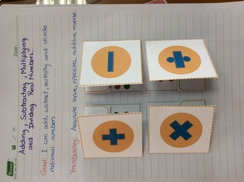Adding, Subtracting, Multiplying and Dividing Real Numbers