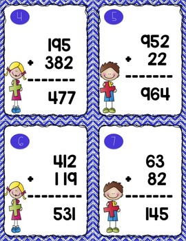 Adding, Subtracting, Multiplying and Dividing Task Card Bundle (w/ QR codes)