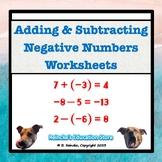 Adding & Subtracting Negative Numbers Practice