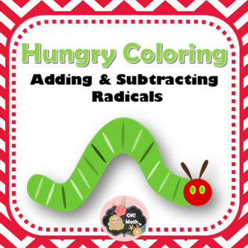 Adding & Subtracting Radical Expression Coloring Activity
