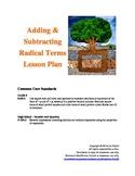 Adding & Subtracting Radicals Lesson Plan