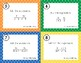 Adding & Subtracting Rational Expressions Task Cards