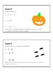 Adding/Subtracting Rational Numbers Haunted House Relay