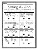 Adding &  Subtracting Spring Pictures