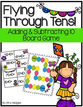 Adding & Subtracting Ten: Flying Through Tens!