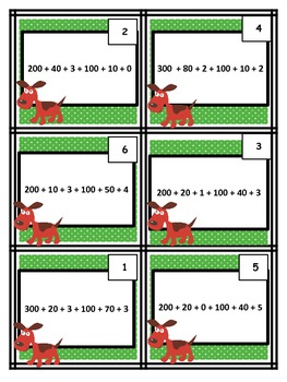 Adding & Subtracting Using Expanded Form & Place Value