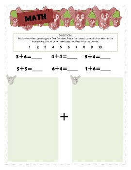 K-1st Grade Math Worksheets